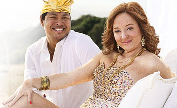 Ketut & Rhonda pre-diagnosis. (Photo: news.com.au)