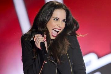 Caterina is inexplicably hopeful about the future. (Photo: The Voice)